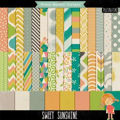 Oscraps :: Shop by Category :: All New :: Sweet Sunshine