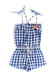 Louis Louise vichy romper - Thalia & Bubu Thalia, Little People, Ideas Para, Jumpsuits, Rompers, Woman, Dresses, Style, Fashion