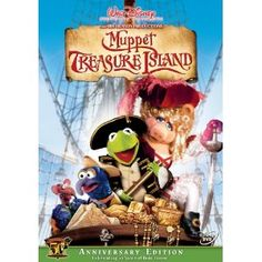 Muppet Treasure Island - Kermit's 50th Anniversary Edition - Tim Curry ROCKS