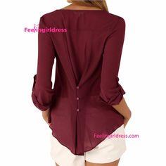 Em estoque blusa desgaste do escritório senhoras blusa nova design pescoço-em Blusas e tops de Vestuário em m.portuguese.alibaba.com.