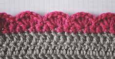Finishing can sometimes be the best part of a long project. Here are five edges every crocheter should know!