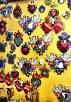 Artesanos, located in Burbank, sells Mexican folk art, furniture, Talavera art, Day of the Dead, chimeneas, and pottery