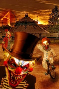 They're saving a seat for you at the Circus Of The Dead (Poerti on deviant art).