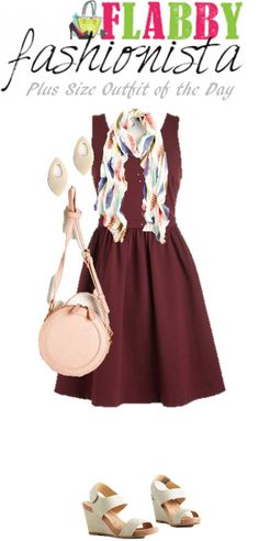 Plus Size Outfit of the Day – Plums and Pinks
