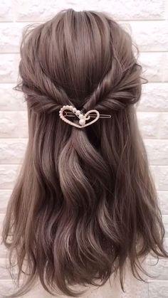 Updo Hairstyles Tutorials, Wedding Hairstyles Tutorial, Step By Step Hairstyles, Bride Hairstyles, Cute Hairstyles, Hairstyles For A Party, Updos For Medium Length Hair Tutorial, Hair Tutorials For Medium Hair, Hairstyle Tutorial