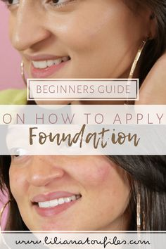 Choosing a perfect color and foundation is the most difficult task because it destroys all look. Read these tips on how to apply liquid foundation. How To Apply Foundation, Liquid Foundation, Foundation Application, Flawless Makeup, Flawless Skin, Natural Makeup For Blondes, Makeup Tutorial Foundation, Beauty Makeup Tips, Crafting