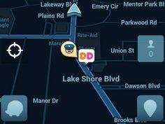 Es la primera red social de y para conductores que ofrece información sobre tránsito vehicular