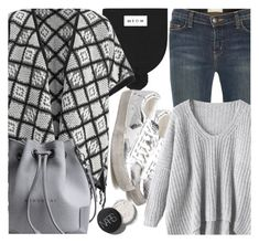 """""""Poncho"""" by fattie-zara ❤ liked on Polyvore featuring Current/Elliott"""