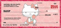Hello Kitty® Classic Checks - clicks through larger detail view in new window