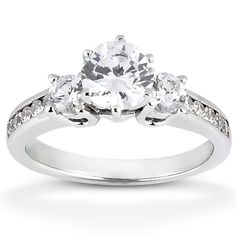 A beautiful ring! Taryn Collection Diamond Engagement Ring TQD 2336 starting ~$1,356