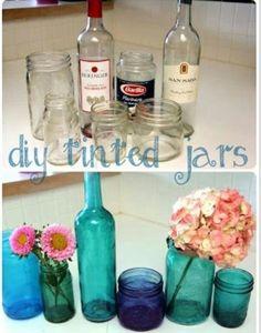 Tinted bottles!