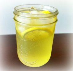 Peppermint ginger lemon drink