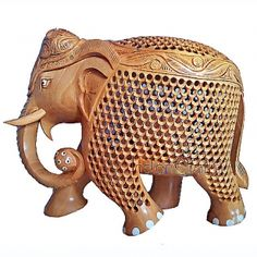 Wooden Elephants from #1 Wooden Handicrafts Suppliers