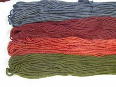 New and Improved Abuelita Yarns  Semi-Solid colors!