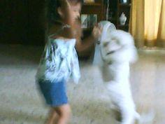 Titiin bailando con Sofiia :p