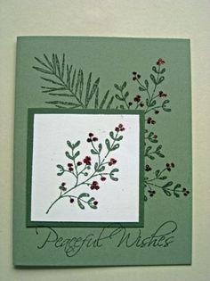 Stampin' Up! Christmas Card | Susan