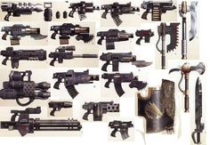 Image result for warhammer 40k weapons