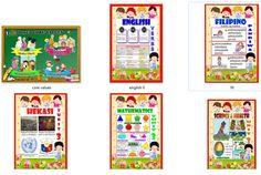 High Quality Bulletin for Grade 6 Quarter) Elementary Bulletin Boards, Classroom Bulletin Boards, Classroom Decor, Classroom Resources, Filipino, Maka, Classroom Welcome, Boarder Designs, Fifth Grade Math