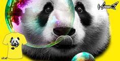 T-shirts - Design: Panda Bubble - by: ADAM LAWLESS