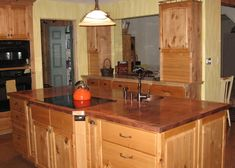 I M In Love With Copper Countertops And This Is A Diy Job Too