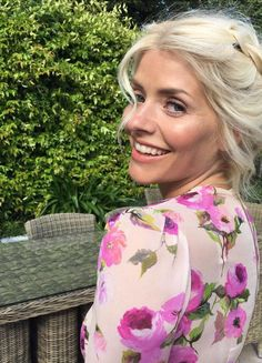 WOAH. Holly Willoughby is no longer beach blonde...