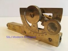Abney level & clinometer #brass #antique nautical #vintage victorian steampunk ol,  View more on the LINK: 	http://www.zeppy.io/product/gb/2/262746492517/