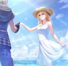 Namine and Riku Kingdom Hearts Namine, Kingdom Hearts Games, Kingdom Hearts Characters, Kingdom Hearts Fanart, Girls Anime, Anime Art Girl, Cry Anime, Dragon Age Series, Kindom Hearts