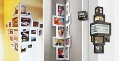"""Creare un """"Angolo Foto""""! Ecco 15 idee originali per esporre le tue foto!"""