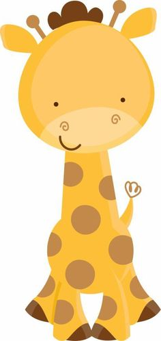 Giraffe clipart head and neck - pin to your gallery. Explore what was found for the giraffe clipart head and neck Jungle Party, Safari Party, Safari Theme, Jungle Theme, Deco Baby Shower, Baby Boy Shower, Jungle Animals, Baby Animals, Decoration Creche