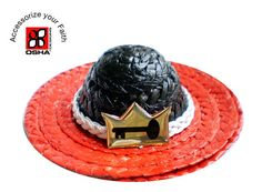 This is an amazing and fashionable handmade black and red Hat for Orisha Eleggua. Yoruba Religion, Trending Outfits, Unique Jewelry, Hats, Handmade Gifts, Red, Vintage, Black, Products