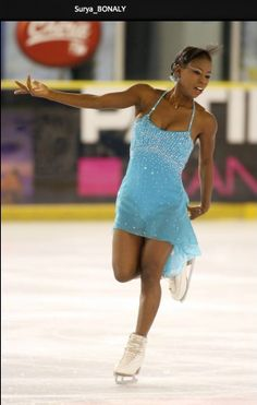SURYA Bonaly was a World Champion in Gymnastics before she began skating. She has won 9 French National Championship titles, 5 European Championships titles & is a 3-time World Silver Medalist. Surya is the only female skater to do her trademark back flip landing on one foot on the ice. She has been dazzling the Champions on Ice audiences for over 10 years.