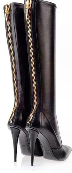 high heel fashionable boots