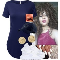 A fashion look from June 2016 featuring NIKE sneakers and Michael Kors earrings. Browse and shop related looks.