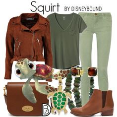 Disney Bound - Squirt