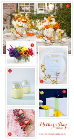 mothers day ideas on onecharmingparty.com #mothersday