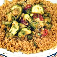 This straightforward vegan dish gets much more interesting with the addition of Middle Eastern spices.