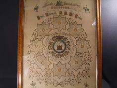 Original Sixth Inniskilling Dragoons framed Muster Roll 1890, £550