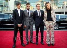 The Boys Of One Direction Are The Most Dapper Men On The AMAs Red Carpet!