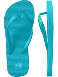 Old Navy flip-flops are cheap and comfortable. I have them in every colour. #Summer #Shoes
