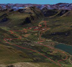 3D skisse av Terrengsykling Isfjorden