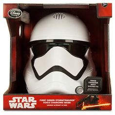 #Christmas Need to buy Star Wars The Force Awakens First Order Stormtrooper Voice Changing Mask Roleplay Toy for Christmas Gifts Idea Online Shopping . Prior to complete a rough set of solutions to purchase this kind of Christmas . Planning what exactly you can acquire, choosing just how much you can commit, and finding out the optimum time to try an...