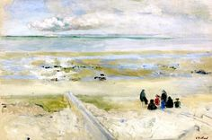 End of the Trip to the Beach / Edouard Vuillard - 1903-1904