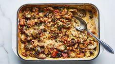 Brussels Sprouts Gratin Recipe | Bon Appetit