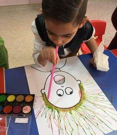 Kids Crafts, Thanksgiving Crafts For Kids, Preschool Crafts, Diy And Crafts, Summer Crafts, Simple Crafts, Kids Diy, Simple Diy, Toddler Crafts
