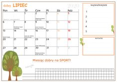 Lipiec 2020- Miesiąc dobry na sport! Sport, How To Plan, Words, Planets, Deporte, Sports, Horse