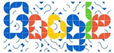 July 2018 Athos Bulcão's Birthday Google Doodles, Doodle 4 Google, Google Gif, Logo Google, Gifs, Gif Collection, Birthday Dates, Geometric Tiles, Moving To Paris