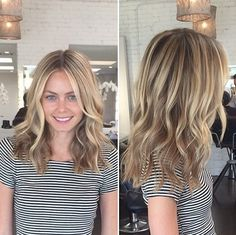 winter brown blonde hair color ideas | Hair Color Ideas for Medium Hair