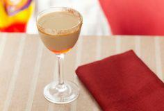 Baileys Cherry Cafe - Baileys, Captain Morgan rum, maraschino cherry juice