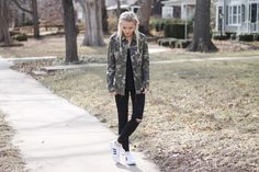 Klassically, Kenzie: CAMO JACKET