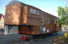 Please enjoy this amazing 34′ tiny house on wheels with slide outs below and re-share it with your friends below. Description from tinyhousetalk.com. I searched for this on bing.com/images